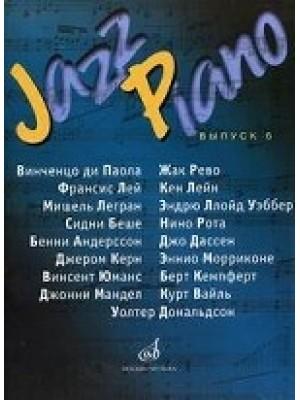 Книга Jazz Piano. Вып. 6: Джазовые и эстрадные композиции: Переложение для фортепиано В.Киселева