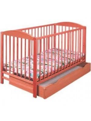 Klups Детская кроватка Radek II (с ящиком) Тик