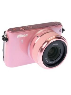 Компактный фотоаппарат со сменным объективом Nikon 1 S1 kit (11-27.5mm) Pink