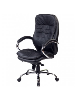 Офисное кресло Baldu Visata Malibu chrom eco Blaсk