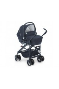 CAM коляска Dinamico Tris T378 сине-черная