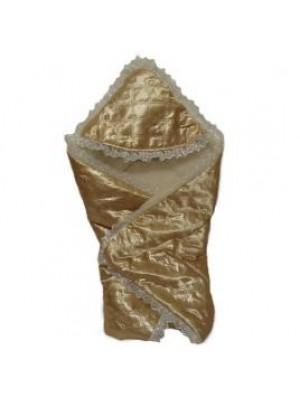 Ассоль Конверт-одеяло для роддома Золотой
