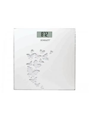 Весы напольные Scarlett SC-BS33E003 Белый (бабочки)