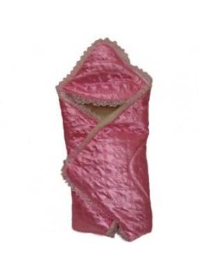 Ассоль Конверт-одеяло для роддома Розовый