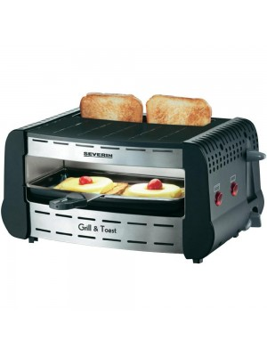Gratar și prăjitor de pâine 2 în 1 1700 W