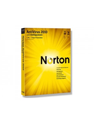 Norton Antivirus 2010 RU 1USER RET
