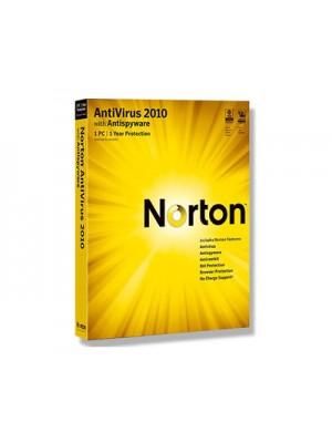 Norton Antivirus 2010 RU 1USER RET