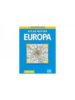 Atlas rutier Europa 1:800000