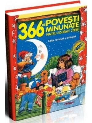 366 de povesti minunate pentru adormit copiii