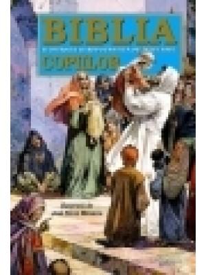 Biblia ilustrata repovestita copiilor