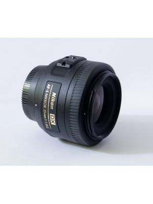 объектив  Nikon Nikor AF-S 35mm F1.8G