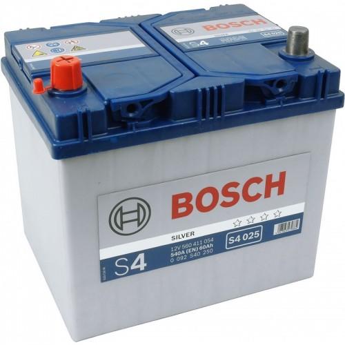 АКБ Bosch S4 12V 60AH 540(EN)