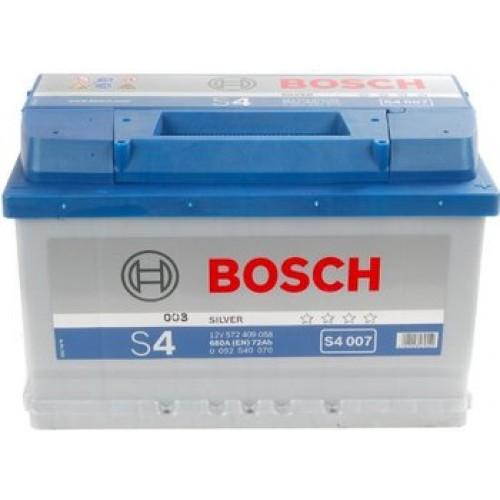 АКБ Bosch S4 12V 72AH 680