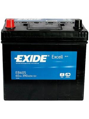АКБ Exide EXCELL 12V 60Ah 390EN
