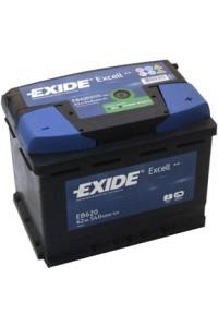 АКБ Exide EXCELL 12V 62Ah 540EN