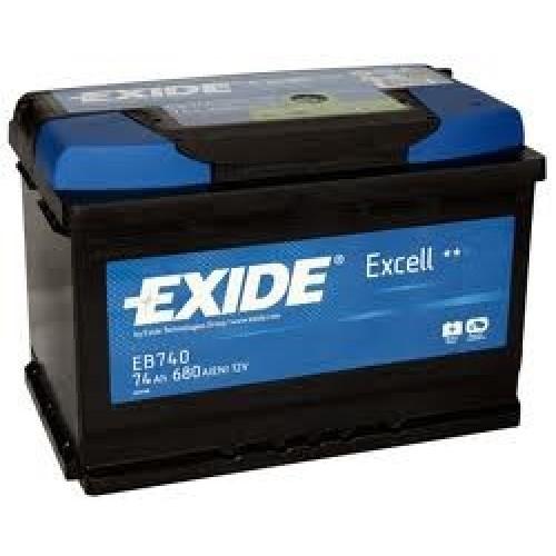 АКБ Exide EXCELL 12V 74Ah 680EN