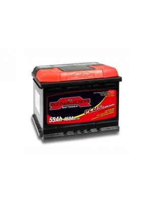 Аккумулятор SNAIDER 55 Ah Plus