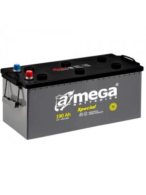 AMEGA Standard 190 Ah + переходник