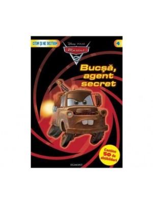 Bucsa agent secret. Carte cu abtibilduri
