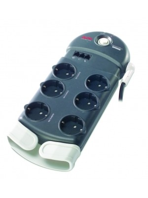 Сетевой фильтр APC Home/Office SurgeArrest 6 outlets with Phone Protection