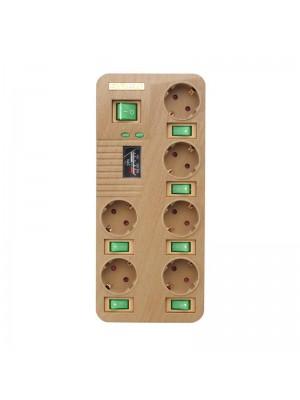 Сетевой фильтр-удлинитель Sven Fort Pro 1,8 м Wooden