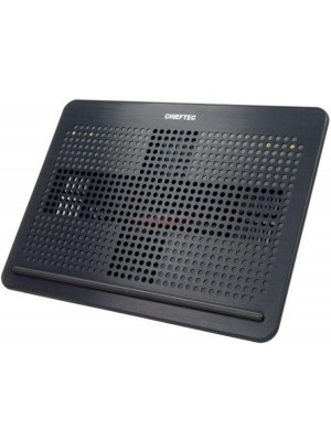 """Chieftec CPD-1420, Cooling Stand, up to 20"""", Aluminium/Plastic, 4 coolers , Black"""