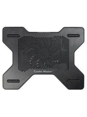 """Coolermaster NotePal X1, Cooling Stand, up to 15.6"""", Alluminium, 1 cooler , Black"""