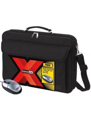 "Dicota D30178 BaseXX Value Kit 16.4"" (Universal Case + USB mouse) Notebook Case 16""/17.3"", black"