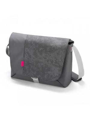 "Dicota D30257 Bounce Messenger 15""-16.4"" (grey/pink), Notebook Bag"