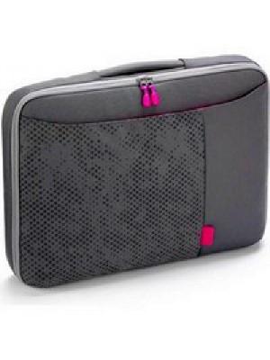 "Dicota D30263 Bounce Slim Case 10""-11.6"" (pink/grey), Notebook Trendy Slim-Fit Bag"