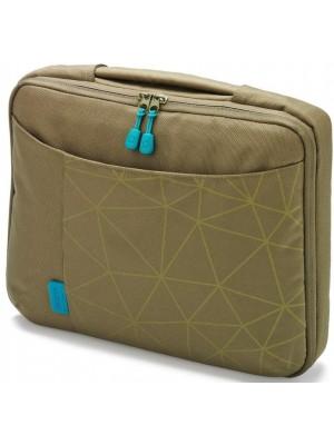 "Dicota D30341 Bounce Slim Case 13""-14.1"" (green/blue), Notebook Trendy Slim-Fit Bag"