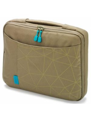 "Dicota D30343 Bounce Slim Case 15""-16.4"" (green/blue), Notebook Trendy Slim-Fit Bag"