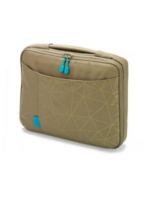 "Dicota D30345 Bounce Slim Case 10""-11.6"" (green/blue), Notebook Trendy Slim-Fit Bag"