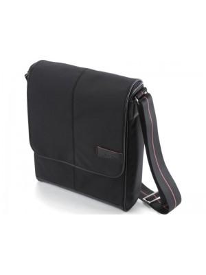 "Dicota N19678N City Wear (Black) 13.3"", Nylon/Leather"