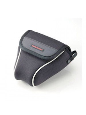 ELECOM ZEROSHOCK SLR camera case (Small, Black), ZSB-SDG004BK