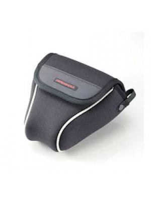 ELECOM ZEROSHOCK SLR camera case (Small, Black), ZSB-SDG004BK