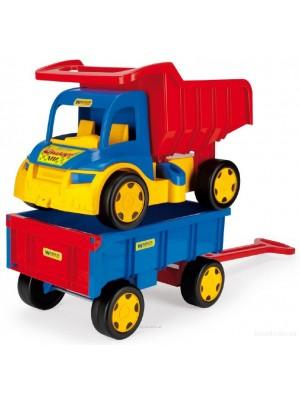 Грузовик Гигант + игрушка тележка Y-167
