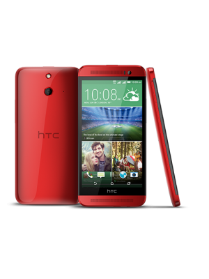 HTC One E8 Dual Sim Red