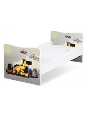Кровать Klups TIMO/Формула 140x70 белая