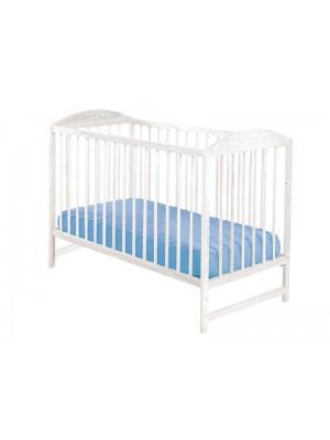 Кроватка Drewex Kuba 2 сосна/прозрачн +стор снижения
