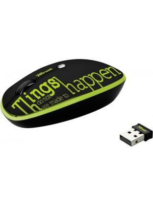 Мышь Trust Pebble Wireless Lime