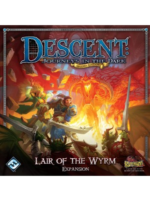 Настольная игра Descent: Journeys in the Dark (2nd Edition) - Lair of the Wyrm
