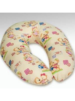 Подушка для кормления бежевая Klups