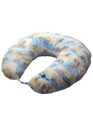 Подушка для кормления голубая Klups