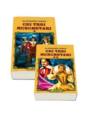 Cei trei muschetari (2 vol.)