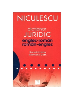 Dictionar  juridic englez-roman si roman-englez