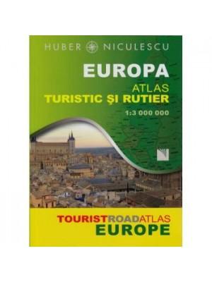 Europa. Altas turistic si rutier