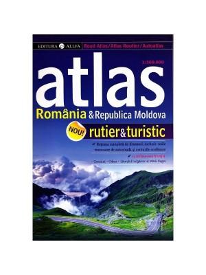 Atlas rutier Romania & Republica Moldova