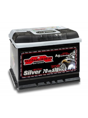 SNAIDER 70 Ah Silver