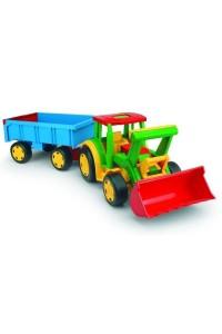Трактор Гигант с прицепом и ковшом Y-169